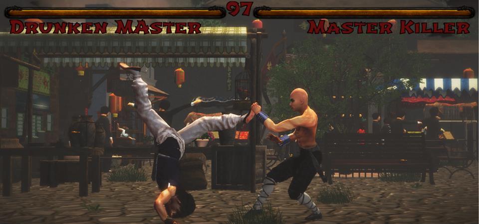 Druken Master - Jackie Chan vs Master Killer - Gordon Liu - Kings of Kung Fu Video Game