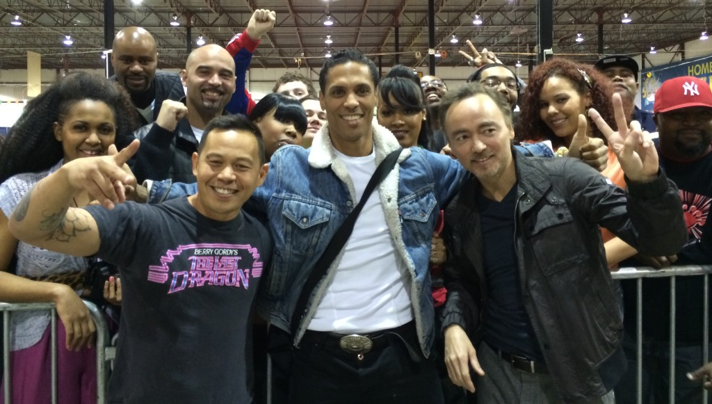 Ernie Reyes - Taimak - Glen Eaton - The Last Dragon Reunion - D-Lux Expo March 2014