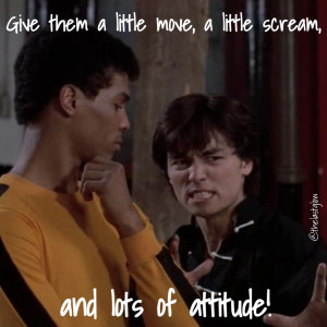 Johnny Yu quote from The Last Dragon