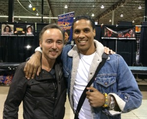 Glen Eaton and Taimak Reunited 29 years after The Last Dragon