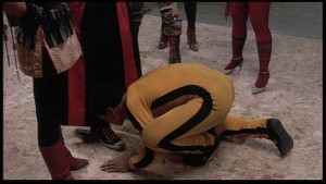 Leroy Kissing Sho's Converse - The Last Dragon