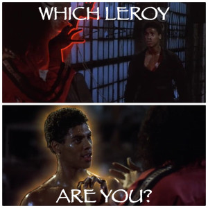 Which Leroy Are You - Bruce Leroy or Leroy Green