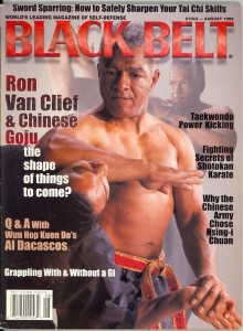 Ron Van Clief Black Belt Mag Cover