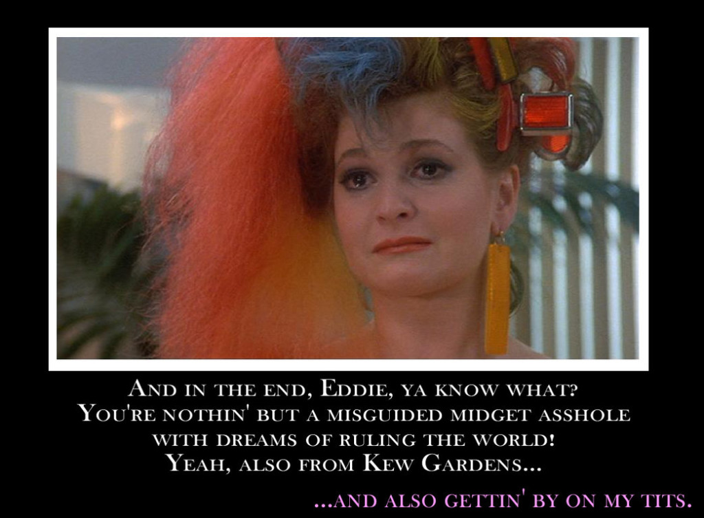 Angela's Speech To Eddie Arkadian The Last Dragon