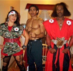 Bruce Leroy - Shonuff and Sho's Woman The Last Dragon Cosplay (pic courtesy of @mahtiebush916)