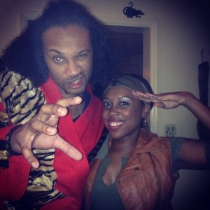 Sho'nuff and Crystal Views The Last Dragon Halloween Costumes