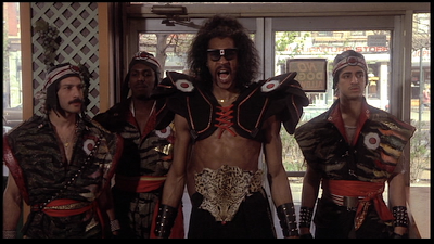 sho nuff and gang at daddy greens pizza the last dragon the last