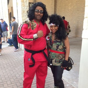 Shonuff and Girl Cosplay
