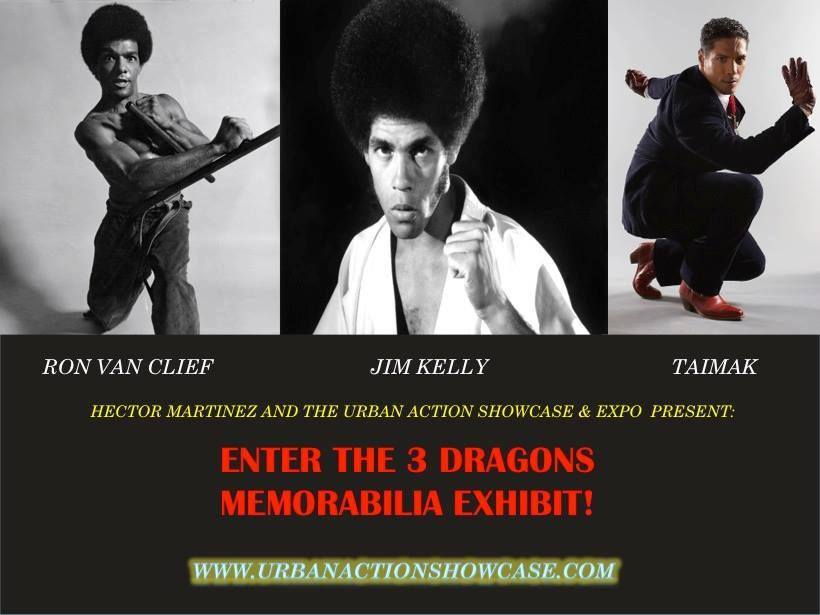 Enter the 3 Dragons - Ron Van Clief - Jim Kelly - Taimak