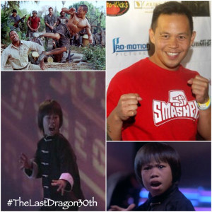 Ernie Reyes Jr The Last Dragon 30th Anniversary - Urban Action Showcase Nov 8th 2014