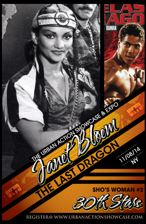 Janet Bloem Featured Guest The Last Dragon 30th Anniversary