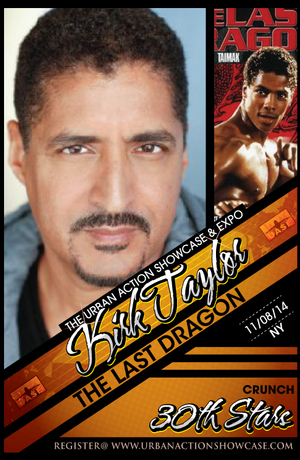 Kirk Taylor Featured Guest The Last Dragon 30th Anniversary