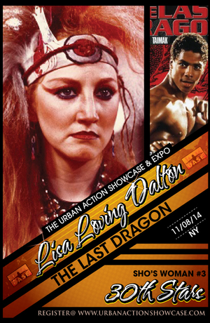 Lisa Loving Dalton Featured Guest The Last Dragon 30th Anniversary