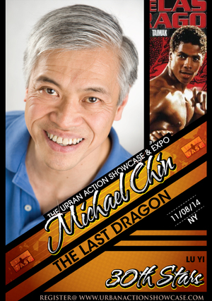 Michael Chin Featured Guest The Last Dragon 30th Anniversary