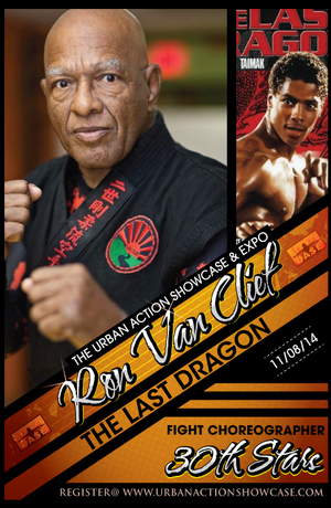 Ron Van Clief Featured Guest The Last Dragon 30th Anniversary