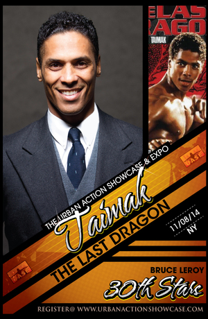 Taimak Featured Guest The Last Dragon 30th Anniversary