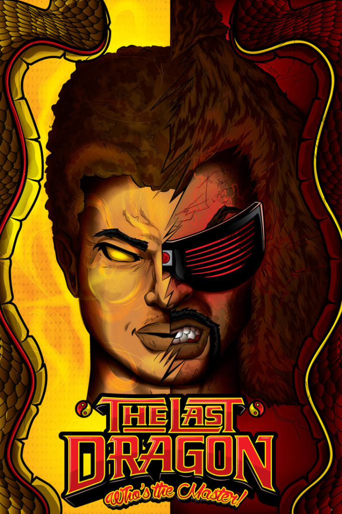 The Last Dragon Poster by William Focus