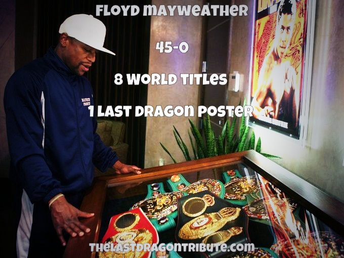 Floyd Mayweather - The Last Dragon Movie Poster