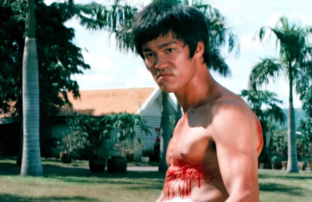 Bruce Lee Final Fight Scene The Big Boss