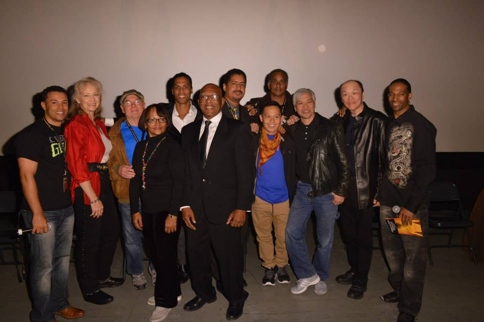 The Last Dragon Cast after The Last Dragon 30th Anniversary Screening