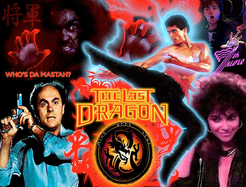 The Last Dragon Tribute Poster by Damian Bravo