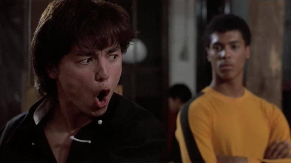 Glen Eaton as Johnny Yu in The Last Dragon