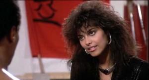 """Denise """"Vanity"""" Matthews as Laura Charles in The Last Dragon (1985)"""
