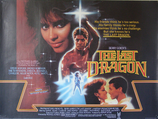 Berry Gordy's The Last Dragon Poster