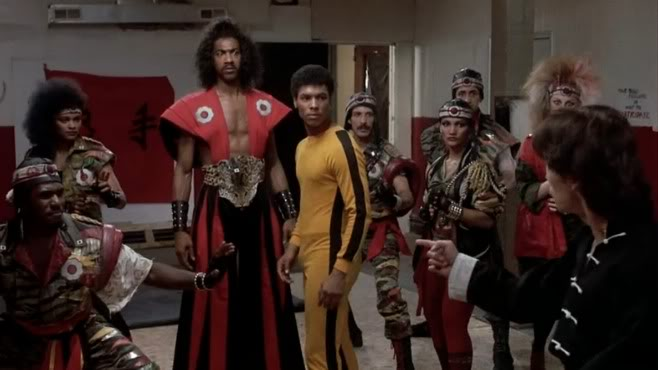 Johnny Yu Confronts Sho'nuff in The Last Dragon