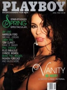 VANITY April 1988 PLAYBOY COVER
