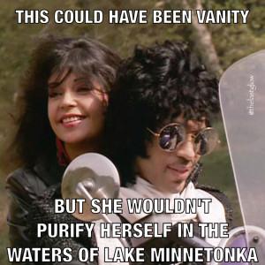 Vanity vs Apollonia - Purple Rain Meme