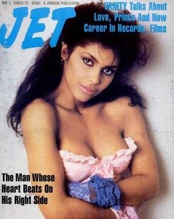 "Denise ""Vanity"" Matthews Cover of Jet Magazine"