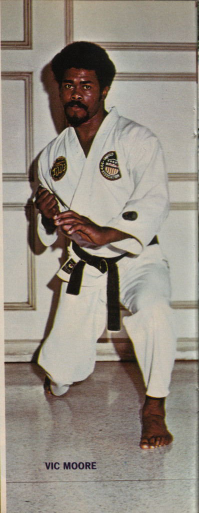 Vic Moore 1974 Official Karate Magazine