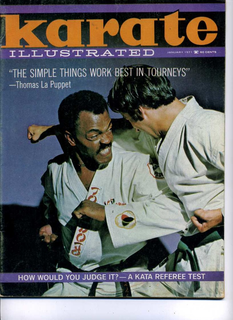 Thomas LaPuppet - Karate Illustrated Cover 1971