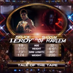 Bruce Leroy vs Shonuff - Tale of Tape