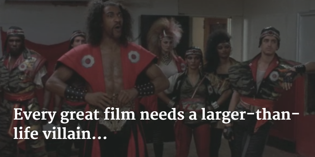 Every great film needs a larger-than-life villain-Shonuff