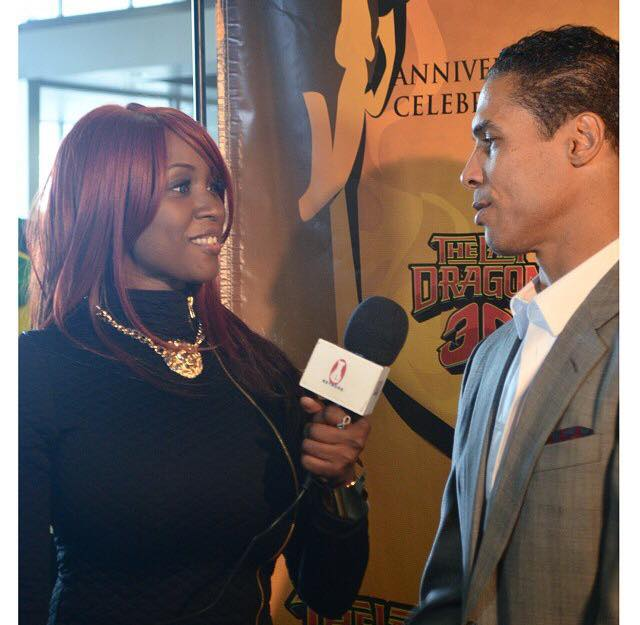 Monique Dupree Interviwing Taimak-March 21 2015-Newark NJ
