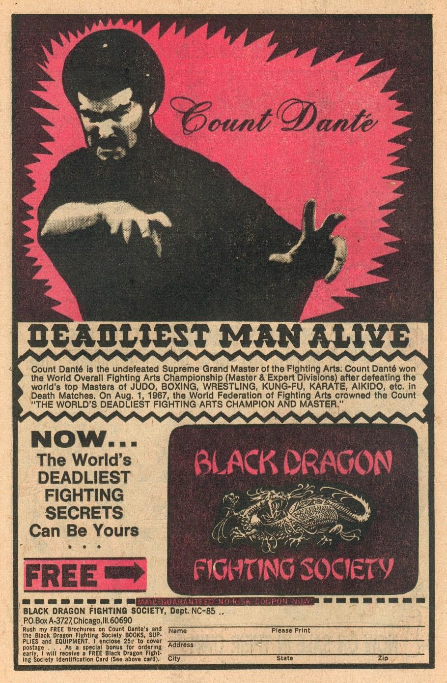 1975-Detective-Comics-Count-Dante-Ad