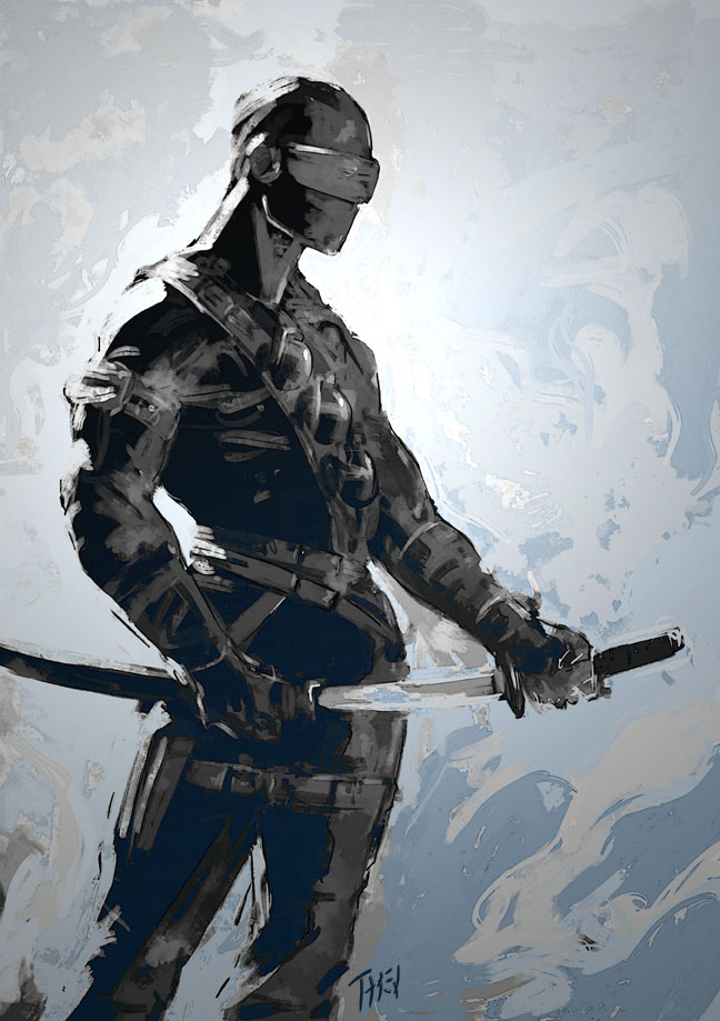 Snake Eyes art by Esotareq