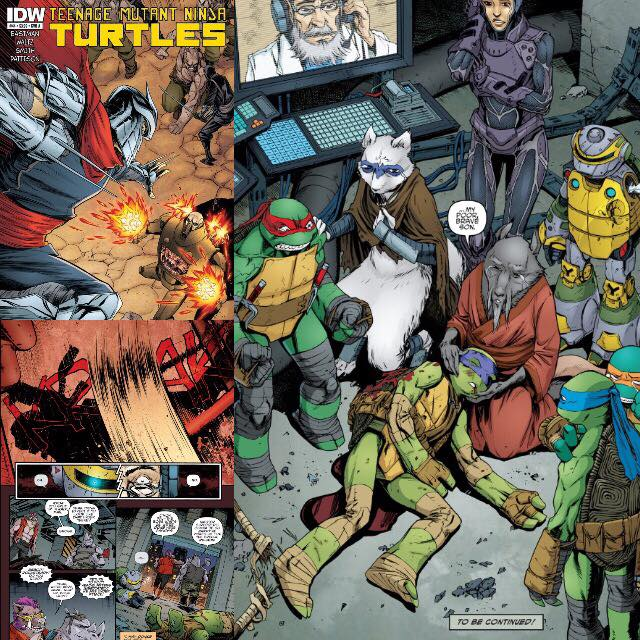 Death of Donatello TMNT Comicbook 2015