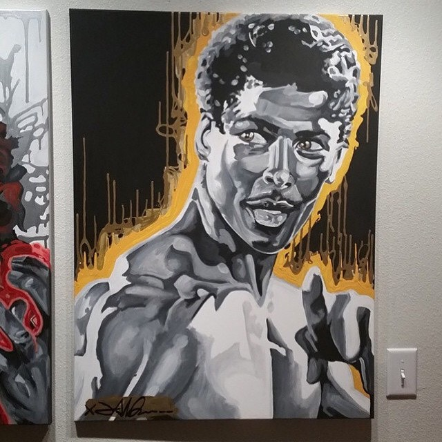 Bruce Leroy Art by Julian Reams