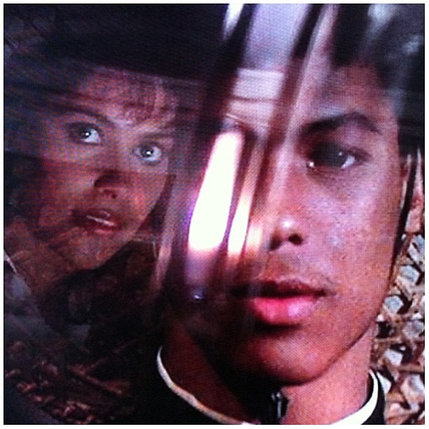 Bruce Leroy - sees Vanity for the First Time - The Last Dragon