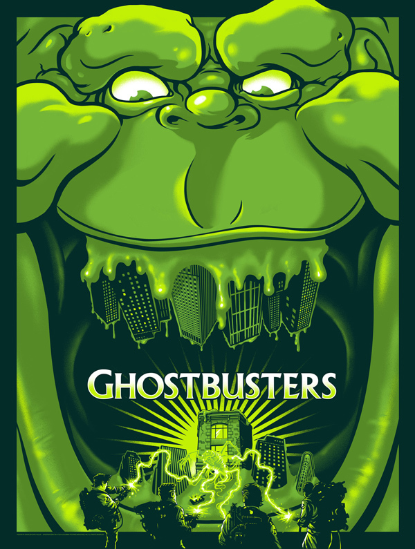 Ghostbusters 30th Anniversary Art by Gary Pullin