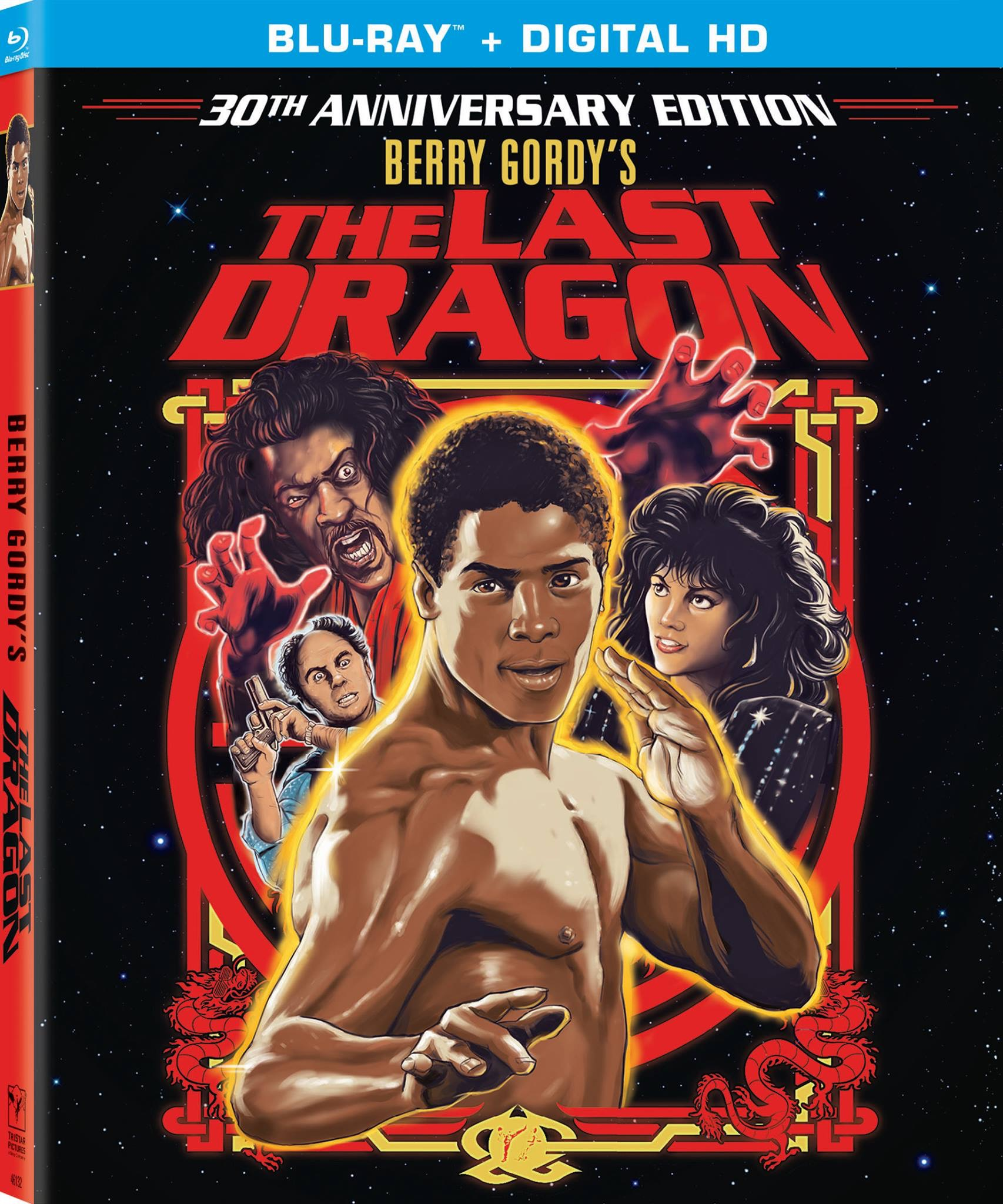 The Official Last Dragon 30th Anniversary Edition Blu Ray