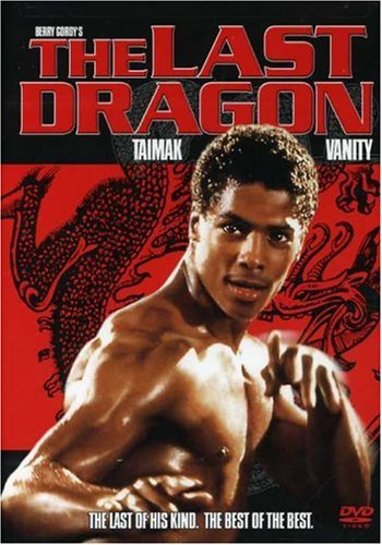 Latest Last Dragon DVD cover
