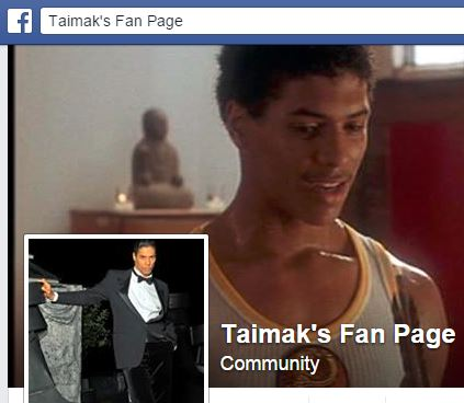 Taimak's Facebook Fan Page