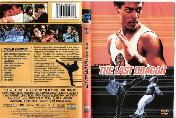 The Last Dragon DVD Cover 2001 version