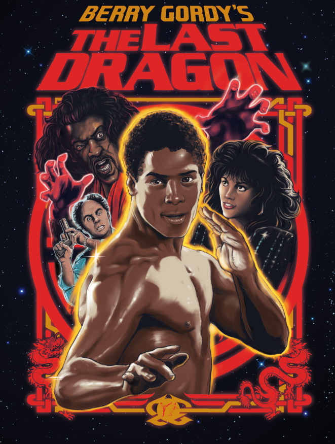 The Last Dragon 30th Anniversary Blu-Ray Cover Art