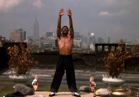 Bruce Leroy Yoga on The Roof NYC - The Last Dragon