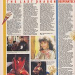1985 Review of The Last Dragon by Ian Cranna
